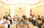 Hải quân Việt Nam -  Ấn Độ tăng cường hợp tác