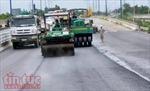 Đường dẫn đầu cầu Mỹ Thủy hoàn thiện đúng tiến độ