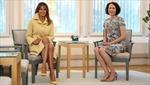 Đệ nhất phu nhân Melania Trump diện đồ Gucci, từ chối thương hiệu Phần Lan