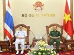 Hải quân Việt Nam - Thái Lan thúc đẩy quan hệ hợp tác