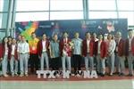 ASIAD 2018: Đoàn Thể thao Việt Nam được đón tiếp nồng nhiệt tại Indonesia