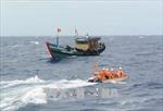 Quảng Ninh: Cứu nạn thành công 3 ngư dân mắc cạn trên biển trong giông lốc