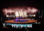 Lễ khai mạc ASIAD 2018 hoành tráng trong không khí lễ hội của 'Xứ Vạn đảo'