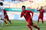 Chùm ảnh: Quang Hải ăn mừng bàn thắng vào lưới U23 Pakistan