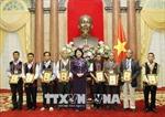Phó Chủ tịch nước tiếp Đoàn đại biểu người có uy tín tỉnh Thừa Thiên - Huế