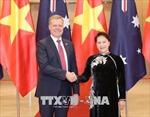 Chủ tịch Quốc hội Nguyễn Thị Kim Ngân đón, hội đàm với Chủ tịch Hạ viện Australia