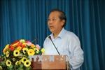 Phó Thủ tướng Trương Hòa Bình kiểm tra công tác cải cách hành chính tại TP.HCM