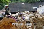 Điện thăm hỏi các tỉnh Bắc Trung bộ và miền núi phía Bắc bị thiệt hại do mưa lũ