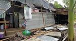 Gần 300 ngôi nhà ở Cà Mau bị sập, tốc mái do lốc xoáy