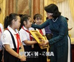Phó Chủ tịch nước gặp Đoàn đại biểu cháu ngoan Bác Hồ tỉnh Bình Dương