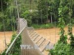 Nguyên nhân ban đầu sự cố tụt cáp cầu treo ở Sơn La