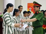 Tha tù trước thời hạn có điều kiện cho 34 phạm nhân