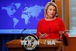 Mỹ khẳng định duy trì cam kết đối với các mục tiêu ở Syria