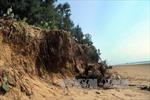 Báo động tình trạng xâm thực bờ biển tại Quảng Xương, Thanh Hóa