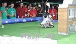 Học sinh Việt Nam đạt thành tích cao tại Giải Robot Thế giới ở Mexico