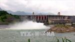 15 giờ ngày 16/8, đóng 1 cửa xả đáy hồ Thủy điện Tuyên Quang