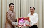 Lãnh đạo TP Hồ Chí Minh tiếp đoàn cán bộ Bộ Khoa học và Công nghệ Lào