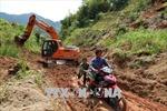 Cảnh báo nguy cơ lũ quét, sạt lở đất tại vùng núi do bão số 4