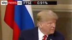 Khoảnh khắc Tổng thống Trump nháy mắt với người đồng cấp Nga Putin