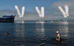 Hải quân Nga phô diễn sức mạnh trong ngày lễ kỷ niệm