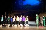 Kỷ niệm 50 năm Chiến thắng Ngã ba Đồng Lộc: Lắng đọng đêm công diễn vở kịch 'Khoảng trời con gái'