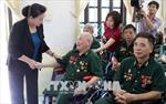 Chủ tịch Quốc hội thăm, tặng quà thương binh, bệnh binh tại Hà Nam