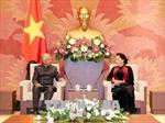 Chủ tịch Quốc hội tiếp Điều phối viên thường trú LHQ và Trưởng đại diện UNICEF tại Việt Nam
