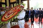 Chủ tịch nước Trần Đại Quang dự Lễ kỷ niệm 130 năm Ngày sinh Chủ tịch Tôn Đức Thắng