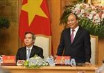 Thủ tướng Nguyễn Xuân Phúc gặp mặt các diễn giả, doanh nghiệp tham dự Diễn đàn cấp cao Công nghiệp 4.0