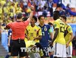 WORLD CUP 2018: Có bao nhiêu thẻ đỏ đã được rút?