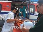 Trực tăng cấp cứu kịp thời ngư dân bị nạn ở Trường Sa