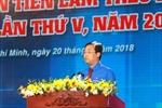 Bí thư thứ Nhất Trung ương Đoàn Lê Quốc Phong giữ chức Chủ tịch Trung ương Hội Liên hiệp Thanh niên Việt Nam