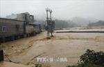 Mưa lũ gây ách tắc nhiều tuyến đường ở Sơn La