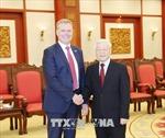 Tổng Bí thư Nguyễn Phú Trọng tiếp Chủ tịch Hạ viện Australia Tony Smith