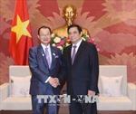 Đồng chí Phạm Minh Chính tiếp Phó Chủ tịch Liên minh Nghị sĩ hữu nghị Nhật-Việt