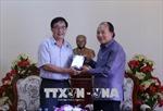 Bàn giao cho Lào bộ phim tài liệu Chủ tịch Suphanouvong với Việt Nam