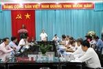 Đoàn kiểm tra của Ban Bí thư Trung ương Đảng làm việc tại Bến Tre