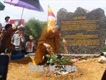 Rước cây Bồ Đề thiêng về trồng tại chùa Tam Chúc (Hà Nam)