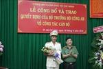 Bộ Công an bổ nhiệm Phó Giám đốc Công an Thành phố Hồ Chí Minh