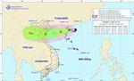 Bão số 4 cách bờ biển Quảng Ninh, Nghệ An hơn 300 km, gió giật cấp 11
