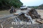 Bắc, Trung Bộ mưa to sau bão số 4, lũ các sông Thanh Hoá, Nghệ An lên nhanh