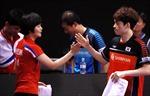 Đội tuyển bóng bàn chung hai miền Triều Tiên đoạt HCV tại giải Hàn Quốc mở rộng