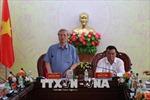 Thường trực Ban Bí thư Trần Quốc Vượng làm việc tại Đắk Lắk