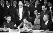 Sống lại những kỷ niệm về ngày ký Hiệp định Pari