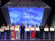 10 gương mặt trẻ Việt Nam tiêu biểu năm 2012