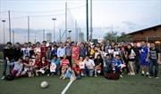 Sinh viên đá bóng giao hữu tại Italia