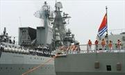 Nga - Trung tập trận, Nhật Bản lo