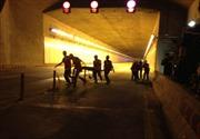 Diễn tập cháy nổ tại hầm vượt Thủ Thiêm