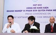 Doanh nghiệp đầu tiên bị kiện vi phạm bản quyền phần mềm