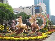Đường hoa Nguyễn Huệ- Nét văn hóa Tết Sài Gòn